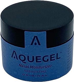 Aquegel Nasal Moisturizer, 12-Hour Relief, Water Based Nasal Gel for Nosebleeds, Oxygen Concentrator, Liquid Oxygen, CPAP,...