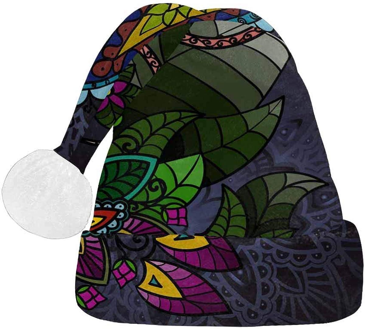 InterestPrint Christmas online shopping Santa Hat Design Fashion Adults Surprise price for
