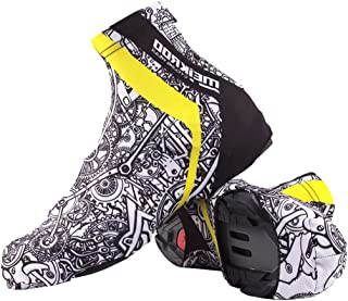 Prettyia Waterproof Bike Shoes Cover Windproof Warm Thermal Cycling Boot Covers Overshoes for MTB Unisex