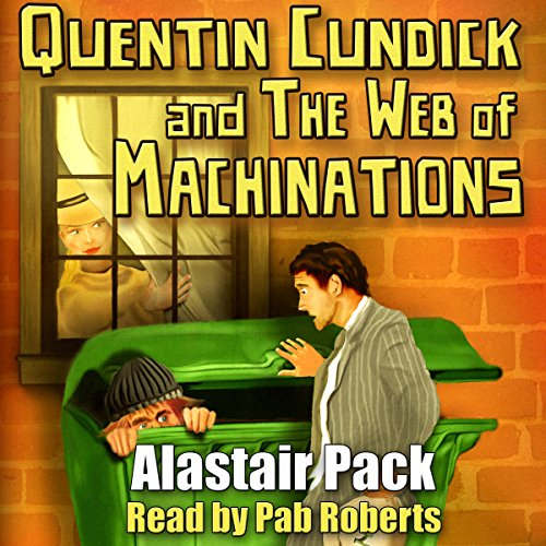 Quentin Cundick and The Web of Machinations cover art