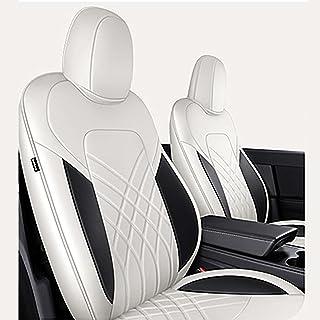 أغطية مقعد السيارة لمسند السيارة تس-لا، مجموعة واقيات مقاعد السيارة الكاملة 360 درجة ثلاثية الأبعاد كاملة المحيط ملحقات مق...