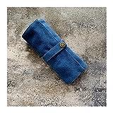AYGANG Guarda Relojes Correa de Nylon Bolsa de Embalaje Caja de Correa Organizador de Viaje Correa de Nylon/Acero/de Cuero/Bolsa de Pulsera (Color : Blue)