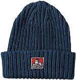 [ベンデイビス] ニット帽 ベンデイビス定番のコットンニットキャップ ヘザーネイビー 日本サイズM相当