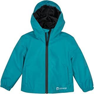 Rain Jacket for Kids/Toddlers, Waterproof, Breathable, Lightweight with Hood