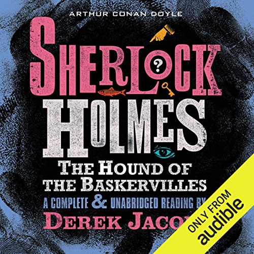 Sherlock Holmes: The Hound of the Baskervilles audiobook cover art