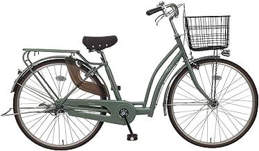 C.Dream(シードリーム) ツバキ オートライト TB61-H 26インチ 自転車 シティサイクル カーキ 100%組立済み発送
