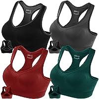 4-Pack Fittin Racerback Women's Sports Bras