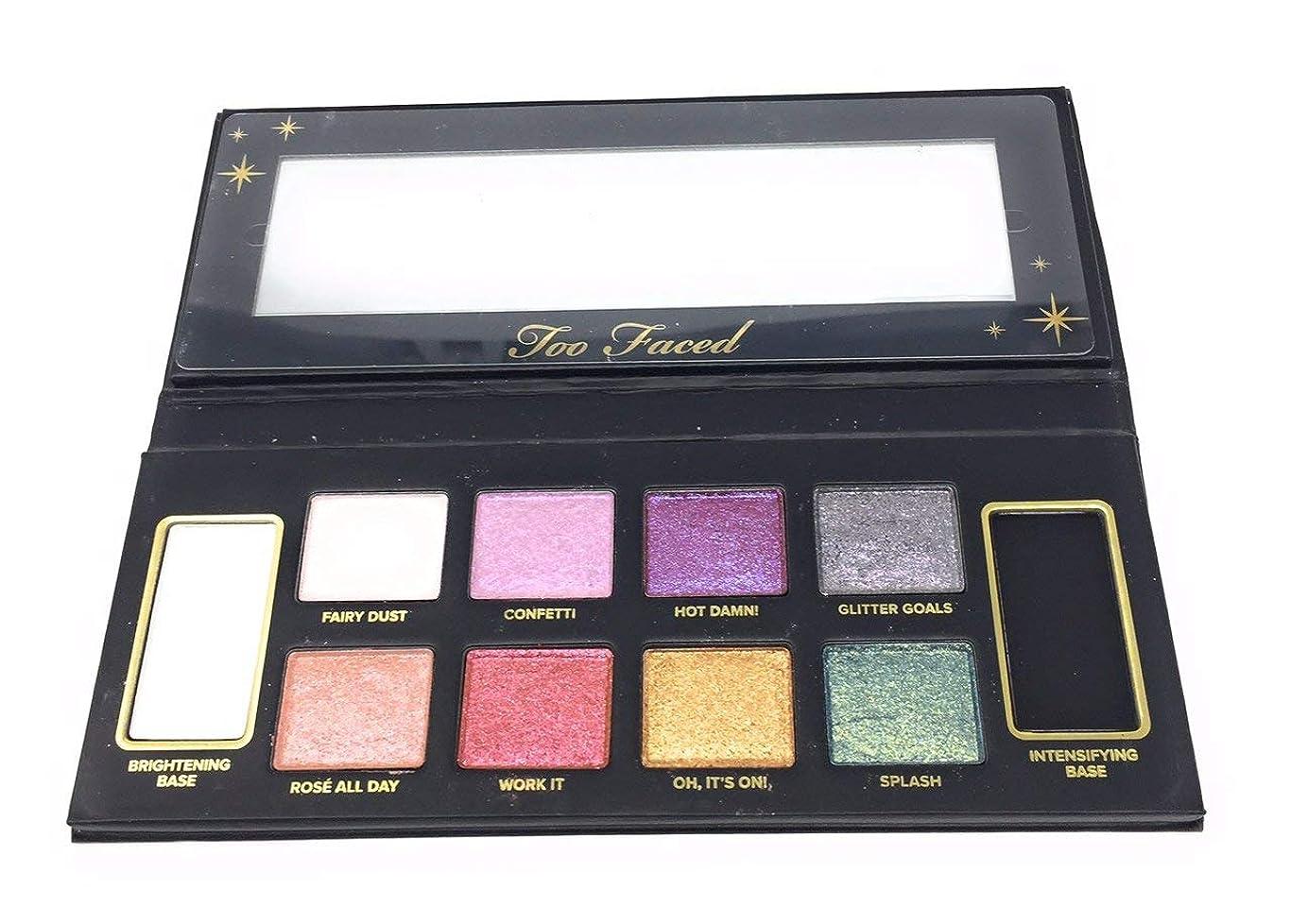線器官感謝祭Too Faced Glitter Bomb Eyeshadow Collection - Exclusive Limited Edition Palette [並行輸入品]