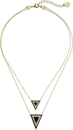 House of Harlow 1960 - Teepee Triangle Necklace