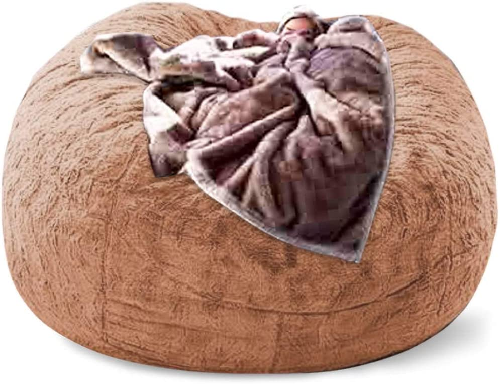LZRDZSW Max 56% OFF 180 Indefinitely cm Bean Bag Sofa Fur Filling Large Soft Without