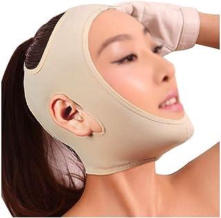 Verstevigend Gezichtsmasker Face-lifting Artefact Liposuctie Postoperatieve Shaping Double Chin Beauty Hood (maat: L)