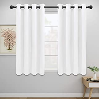 Easy-Going Thermal Insulated Grommet Blackout Curtains for Bedroom,Window Curtains, Noise Reducing Darkening Drapes for Li...