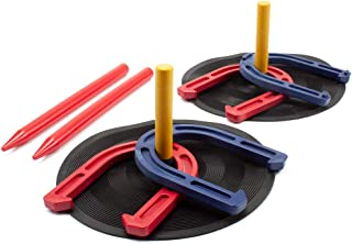 GSE Games & Sports Expert Horseshoe Game Set. Great for Indoor and Outdoor