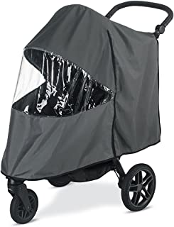 BRITAX B-Free Stroller Wind and Rain Cover, Grey, 0.965 pounds