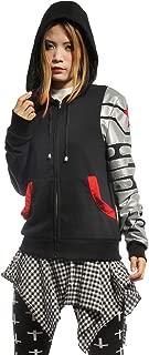 Fancy Super Soldier Style Zipper Jacket Hoodie Sweatshirt Coat Costume Unisex