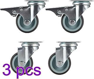 Kinberry - Ruedas giratorias de transporte (4 unidades, con ruedas de freno, 5 cm)