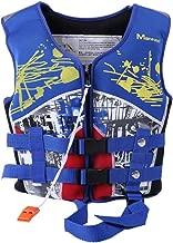ELEOPTION Children Life Jackets, Swim Vest Float Jacket, Boys Girl Life Vest with Whistle