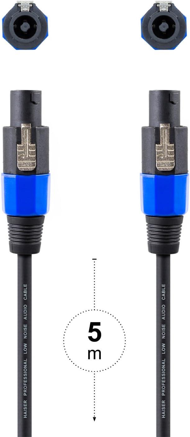 Haiser 10 M Pa Lautsprecher Kabel 2 Polig 2 5 Mm Elektronik