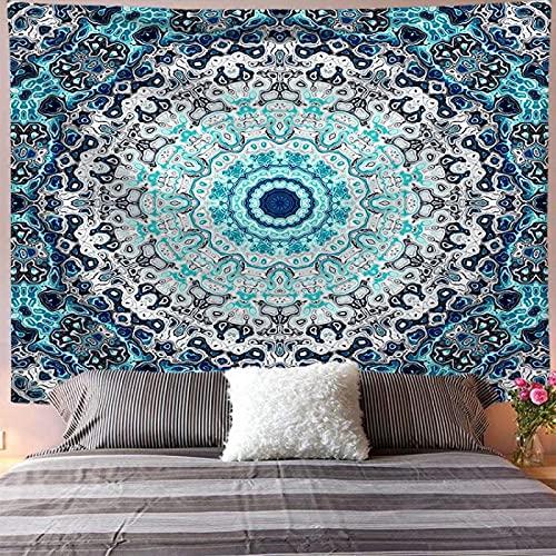 XGguo Tapestry,Colgar en la Pared, Flor geométrica Sentado Manta Colgante de Pared Toalla de Playa
