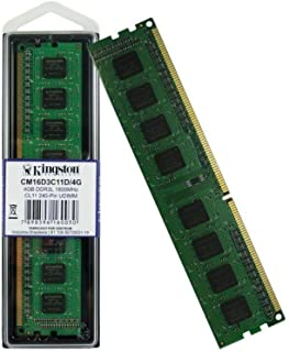 Memória DDR3 4GB 1600MHz CL11 Kingston CM16D3C11D/4G