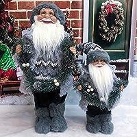 クリスマスツリー 飾り BABY HALO サンタ あごひげ 装飾品 手作り トムテ ぬいぐるみ クリスマス 装飾 サンタクロース 人形 ぬいぐるみ 室内装飾 クリスマス雰囲気満載 タクロース 人形 (スタイルG-30 * 15cm)