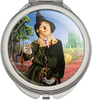 Wizard of Oz Scarecrow Character Compact Travel Purse Handbag Makeup Mirror