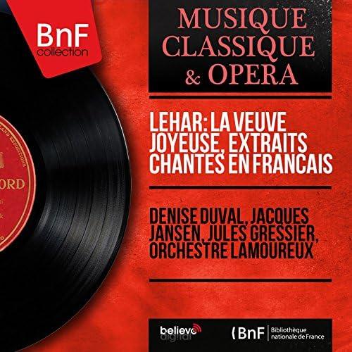 Denise Duval, Jacques Jansen, Jules Gressier, Orchestre Lamoureux
