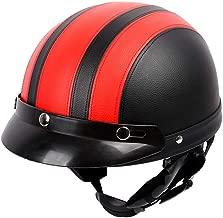 BERGORT Bicycle Helmet Bike Cycling Climbing Skiing Helmet Half Face with Visor Goggles Protective Men and Women Teenager Youth Helmet