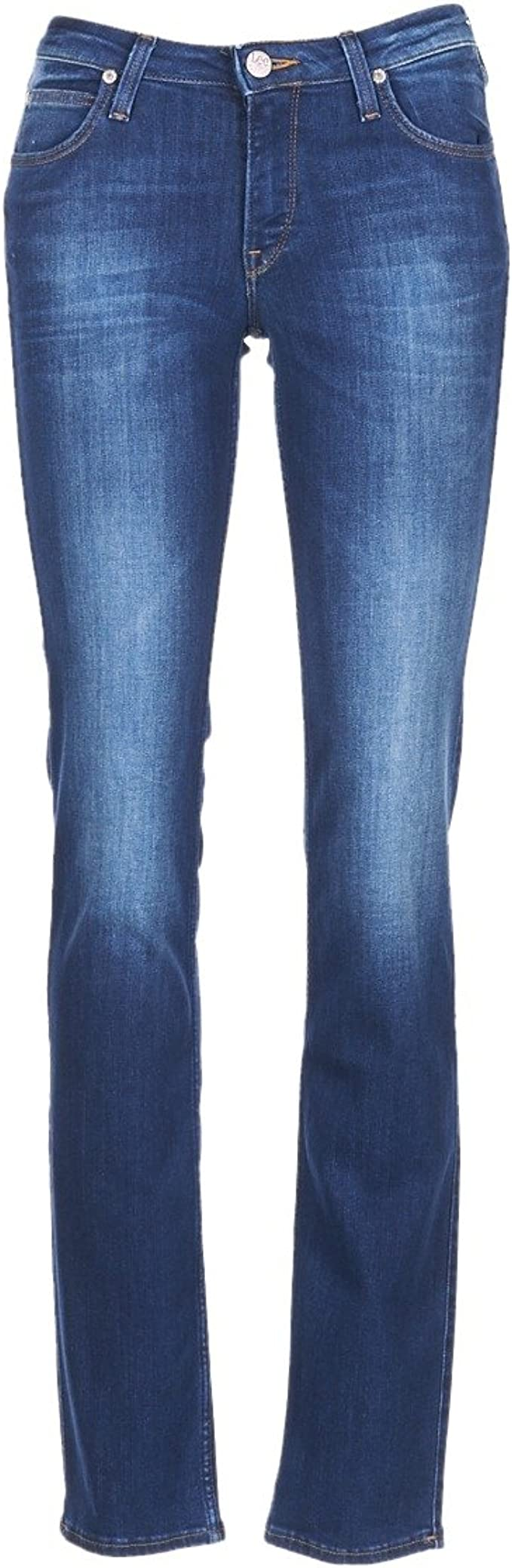283 opinioni per Lee Marion Straight Jeans Donna