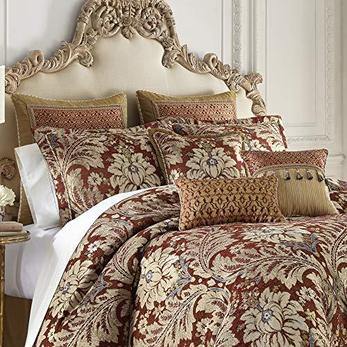 Croscill Arden Queen Comforter, Red