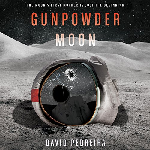 Gunpowder Moon audiobook cover art