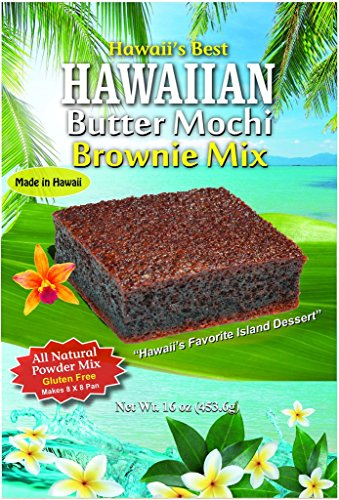 Hawaii#039s Best Butter Mochi Brownie Mix With 100% Ghirardelli Cocoa