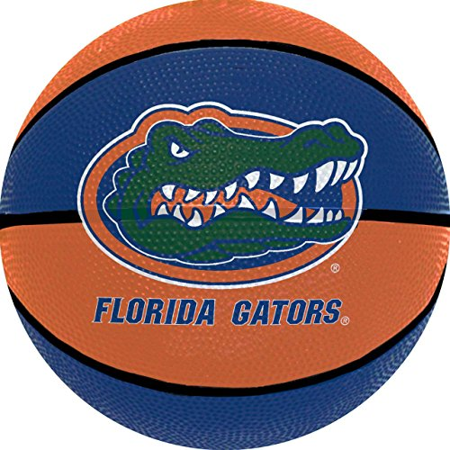 Amazing Deal logobrands NCAA Florida Gators Mini Size Rubber Basketball, Brown