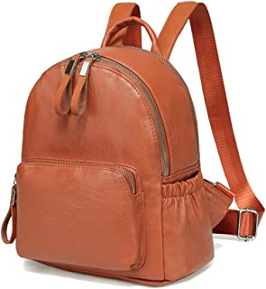 Best small brown backpack Reviews