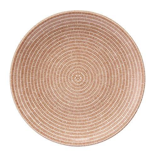 【Arabia】アラビア【フィンランド北欧食器】24h Avec Plate flat 20 cm Brown ブラウン