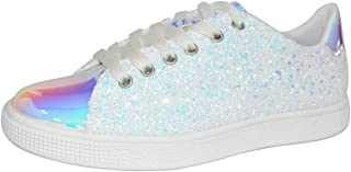 Glitter Sneakers Lace up | Fashion Sneakers | Sparkly...