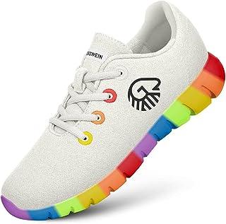Giesswein Merino Runners Pride M - Baskets Respirantes en Laine mérinos 3D Stretch, Chaussures légères et décontractées av...