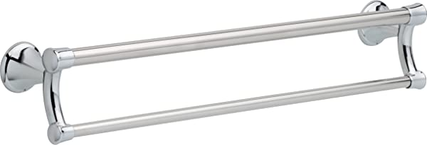 Delta Faucet 41419 Transitional 24 Inch Towel Bar Assist Bar Polished Chrome