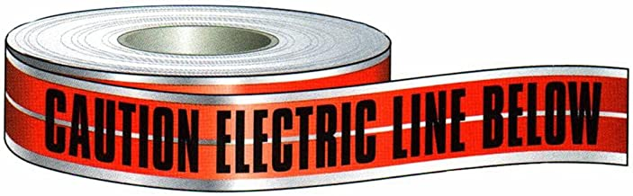Morris Products Underground Electrical Foil Lined Caution Tape – 3