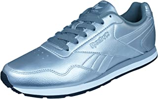 Reebok Classic Royal Glide Womens Leather Trainers/Shoes - Silver