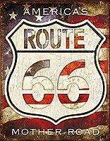 66-アメリカの道ティンサイン