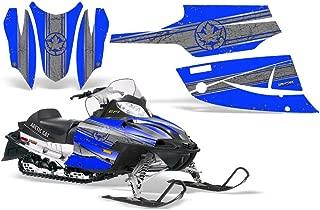 CreatorX Arctic Cat Firecat Sabercat 2003-2006 Snowmobile F5 F6 F7 Graphics Kit Canadian Flyer Silver Blue