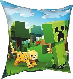 Aitaton Mi-n-ecr-af-t Throw Pillow Covers Car Sofa Cushion Cover Pillowcases Home Decor 18 x 18 Inch