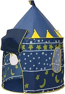 YSJJWDV Teepee tält bärbart tält pool tipi tält spädbarn barnspel lek tält prinsessa prins rum rolig zon inomhus utomhus l...