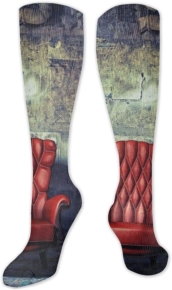 Abandoned Room Knee High Socks Leg Warmer Dresses Long Boot Stockings For Womens Cosplay Daily Wear