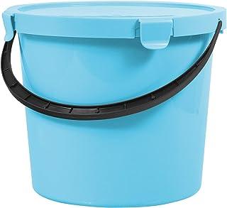 Plast Team Berry Seau avec couvercle Bleu clair 10 l