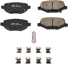 Power Stop Z23-1612, Z23 Evolution Sport Carbon-Fiber Ceramic Rear Brake Pads