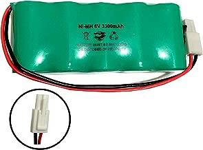 700113 Craftsman 240.74801 6v 3300mah Ni-MH Battery