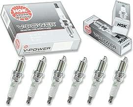 6 pcs NGK V-Power Spark Plugs for 2006-2010 Jeep Commander 3.7L V6 - Engine Kit Set Tune Up