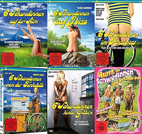 Sexy Classic – Hurra die Schwedinnen sind da - Mega Collection – Auf der Alm + Ibiza + Tankstelle + Hinter Gittern .. 10 DVD Edition